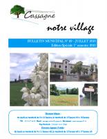 Bulletin MunicipalN°69-Juillet 2020