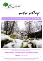 Bulletin Municipal N°71-Janvier 2021