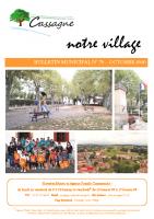 Bulletin Municipal N°70-Octobre 2020